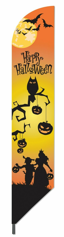 Happy Halloween Pennant Flag