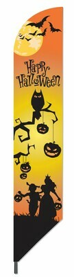 Happy Halloween Pennant Flag