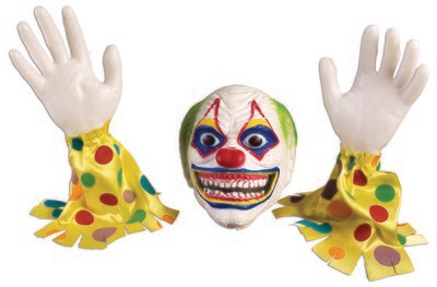 Evil Clown Ground Breaker Lawn Decor