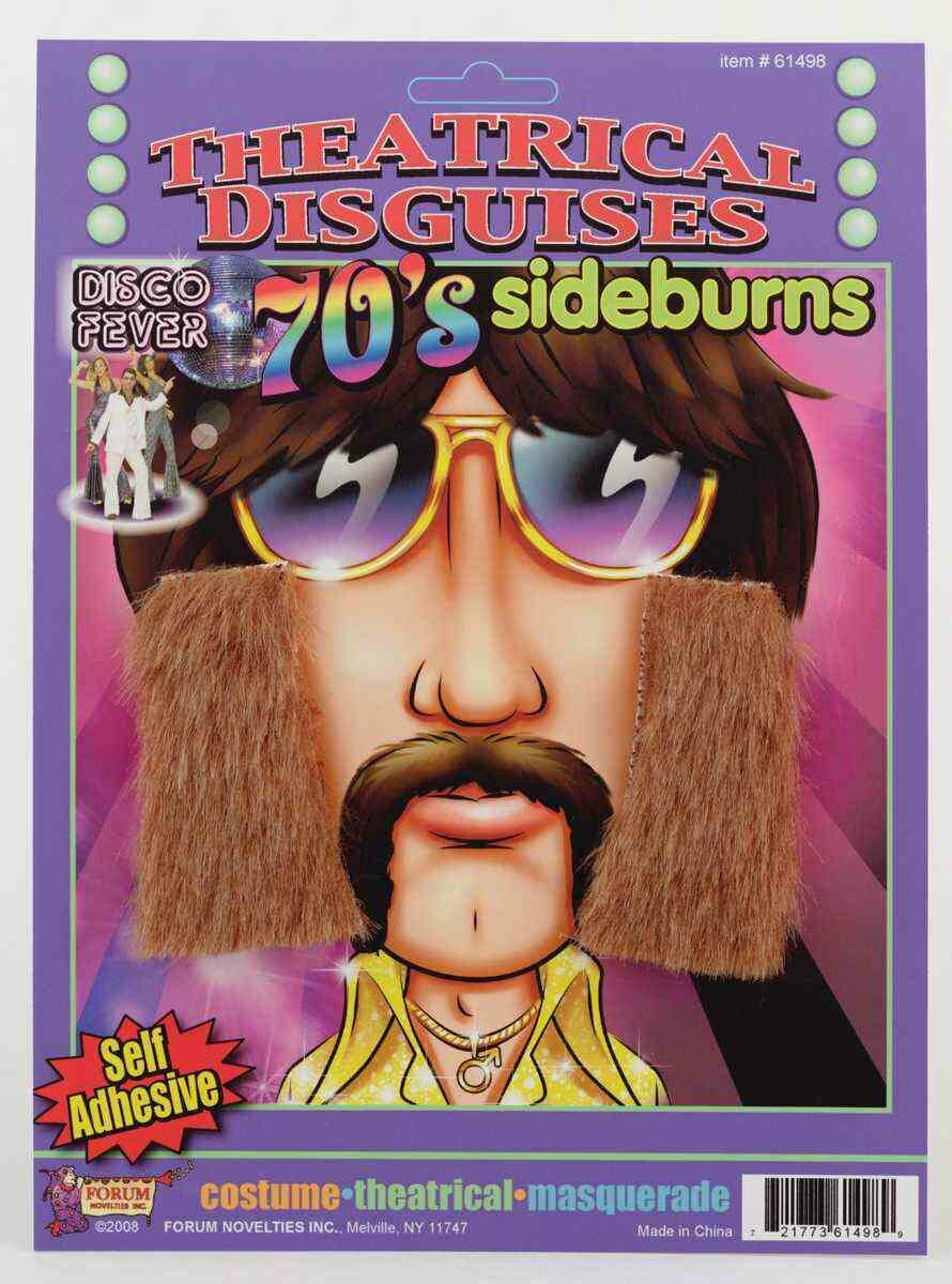 70's Sideburns