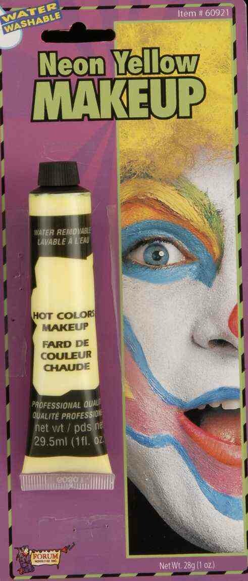 Cream Makeup - Neon Yellow