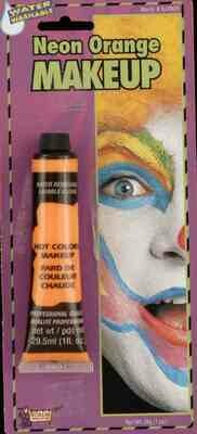 Cream MakeUp Tube - Neon Orange