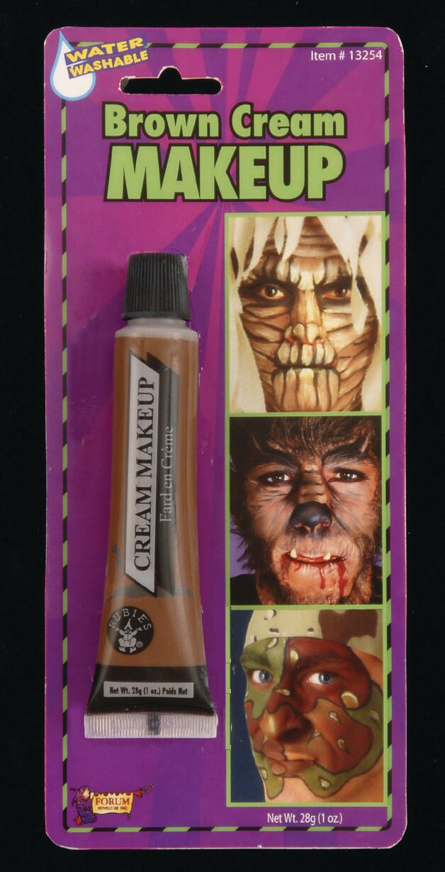 Cream Makeup Tube - Brown