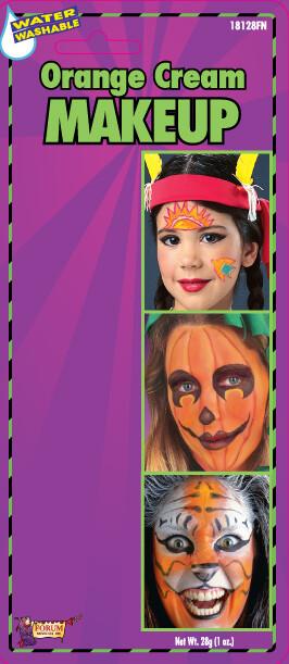 Cream Makeup Tube - Orange