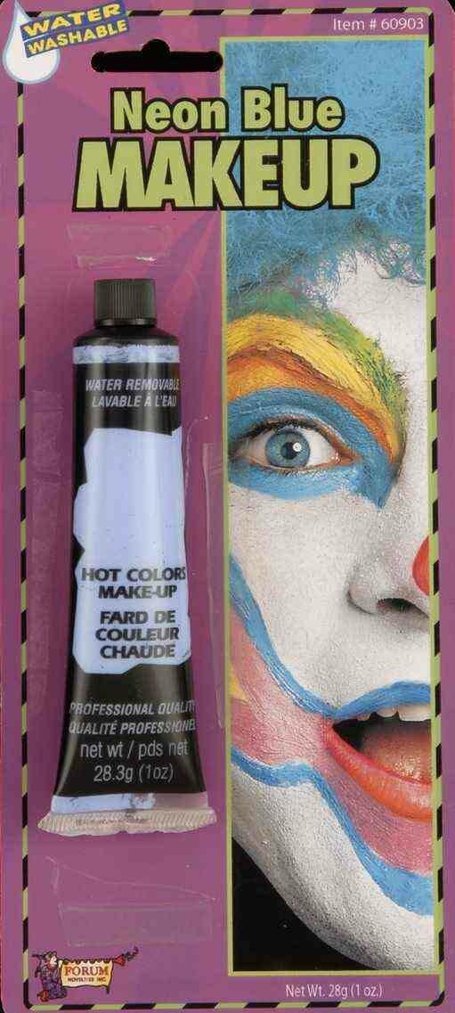 Cream MakeUp Tube - Neon Blue