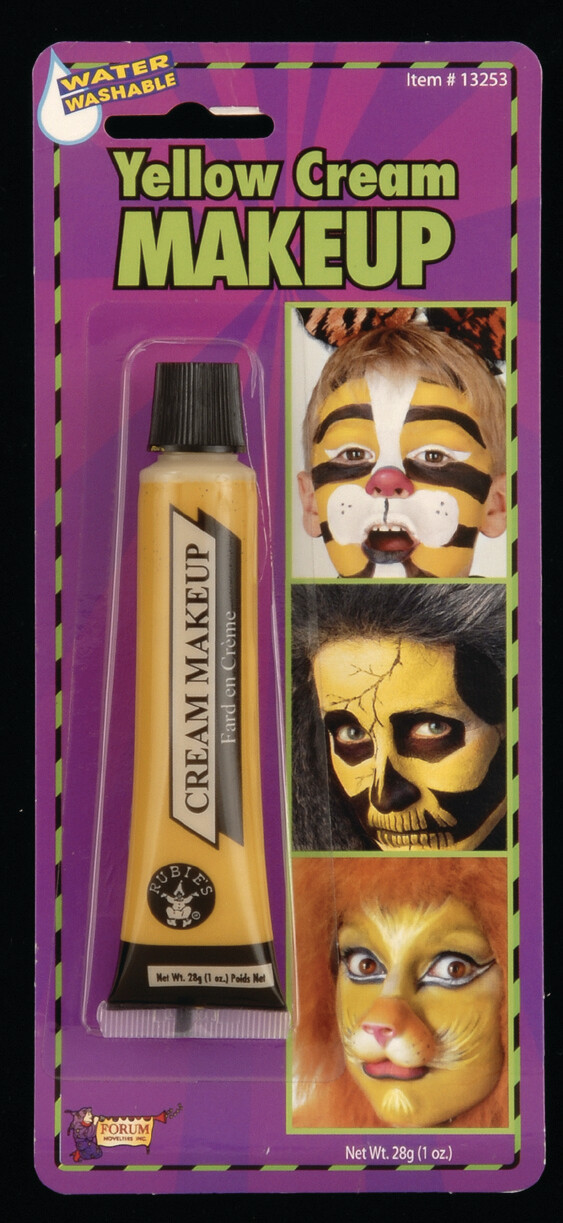 Cream Makeup Tube - Yellow