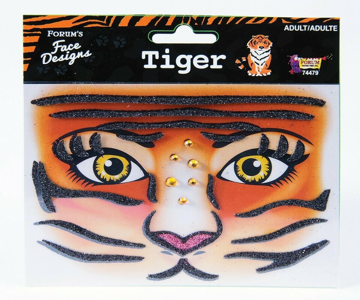 Face Design - Tiger