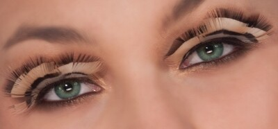 Tiger Eyelashes