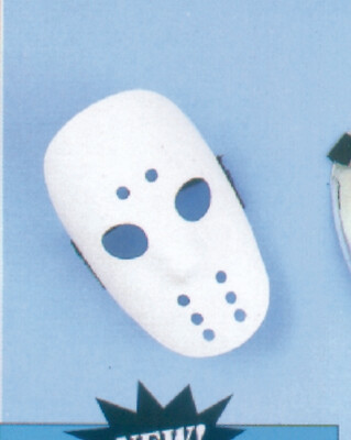 Hockey Mask - White