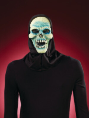 Hood Mummy Skull