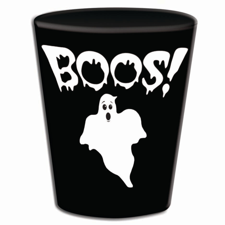 """Boos"" Shot Glasses"