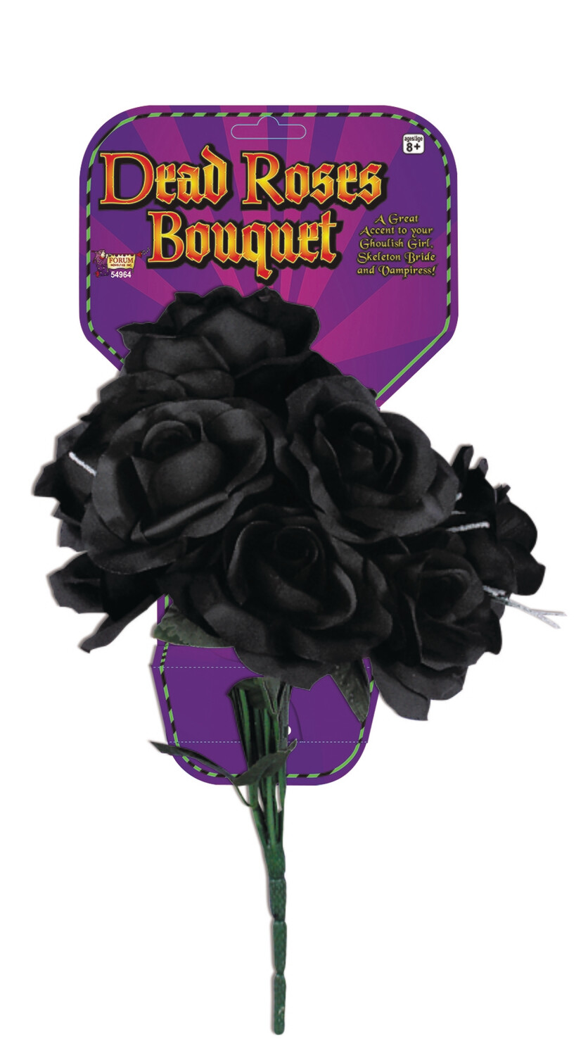 Dead Rose Bouquet - All Black