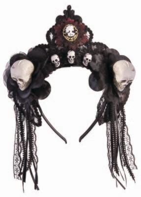 Fancy Skull Headband
