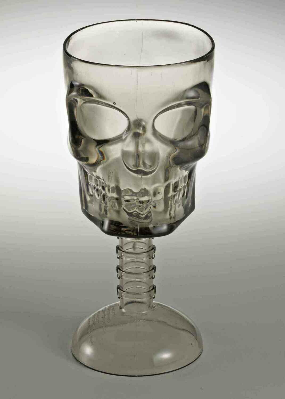 Gray Skull Goblet