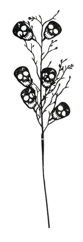 Long Stem Skull Flowers