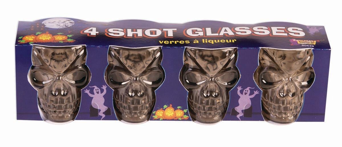 Skull Shot Glasses Set