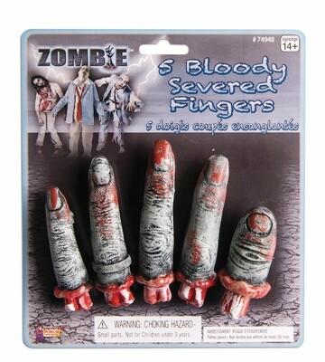 Zombie Finger Set