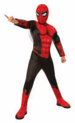 Spider-Man: Far From Home - Deluxe -Red/Black Suit - Kids