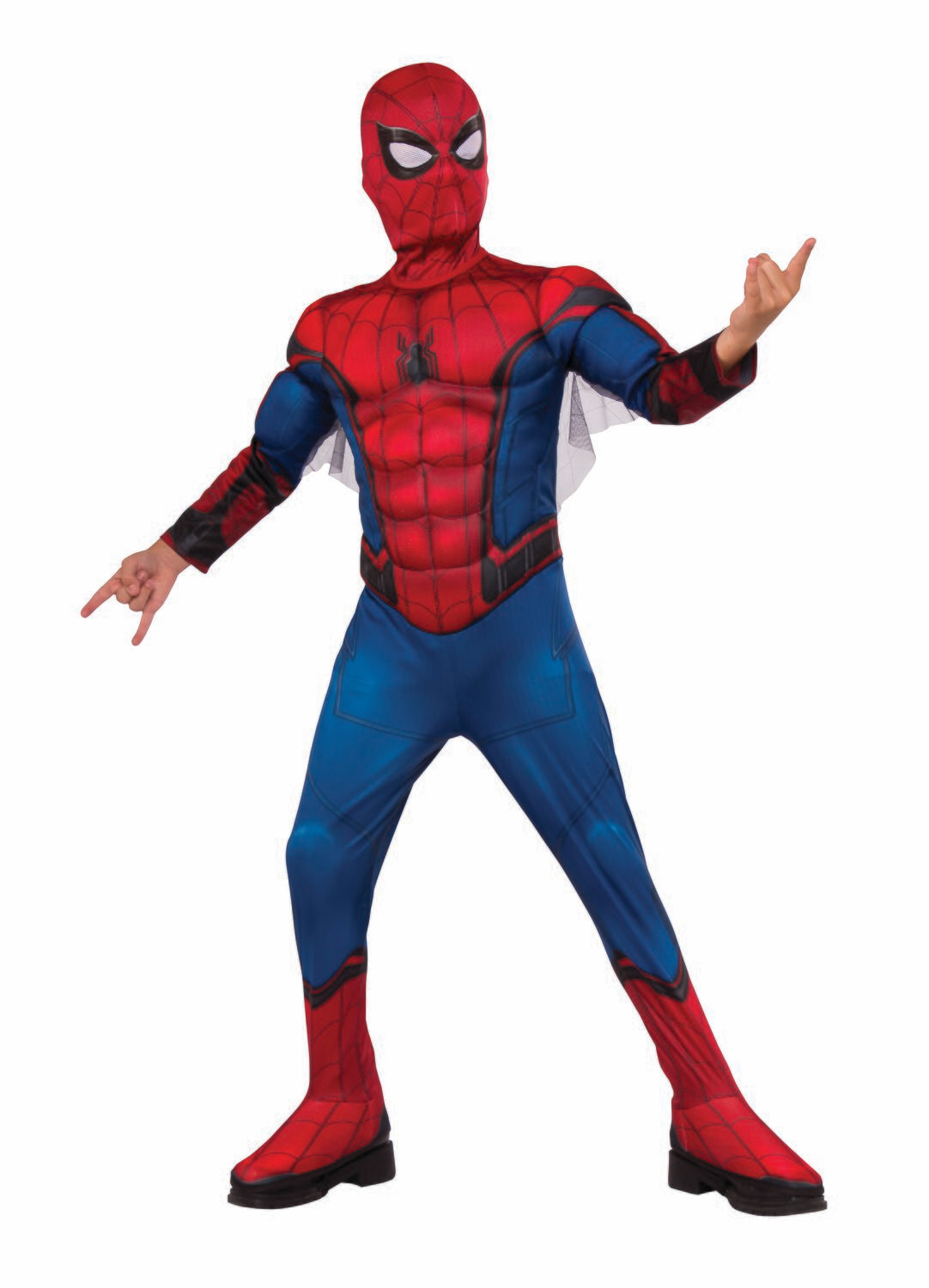 Spider-Man: Far From Home Deluxe - Red/Blue Suit Costume - Kids