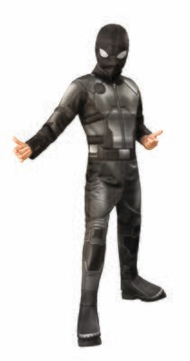 Spider-Man: Far From Home - Deluxe - Stealth Black/Gray Suit - Kids
