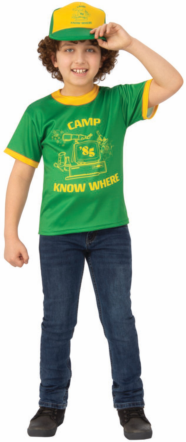 Stranger Things 3 Dustin's T-Shirt - Camp Know Where