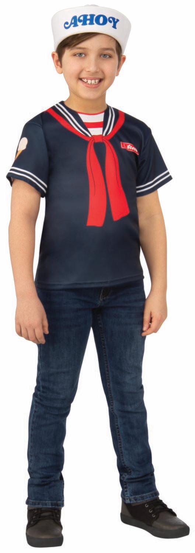 Stranger Things 3 Steves Scoops Ahoy Uniform