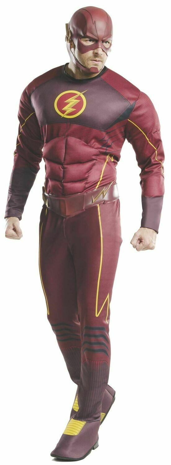 Deluxe Adult Flash Costume - The Flash TV Series