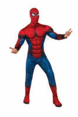 Spider-Man: Far From Home - Deluxe -  Red/Blue Suit - Adult