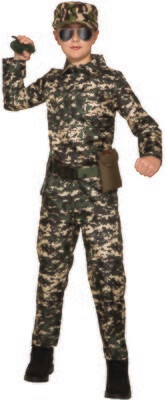 Army Jumpsuit - Boys