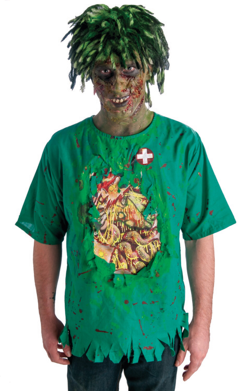 Biohazard Zombie Guts Shirt