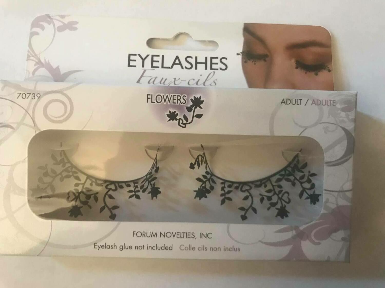 Flowers Eyelashes