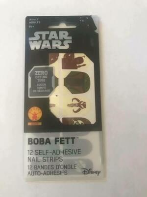 Boba Fett Nail Strips