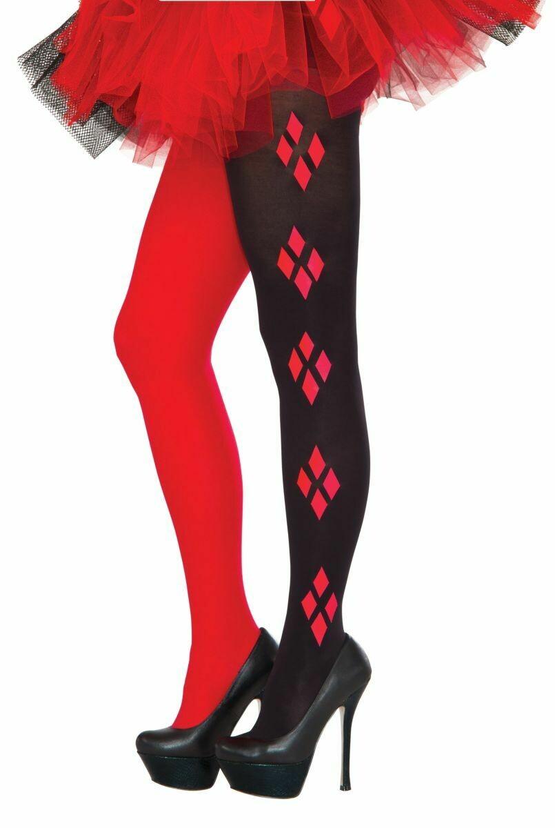 Harley Quinn Tights - Adult