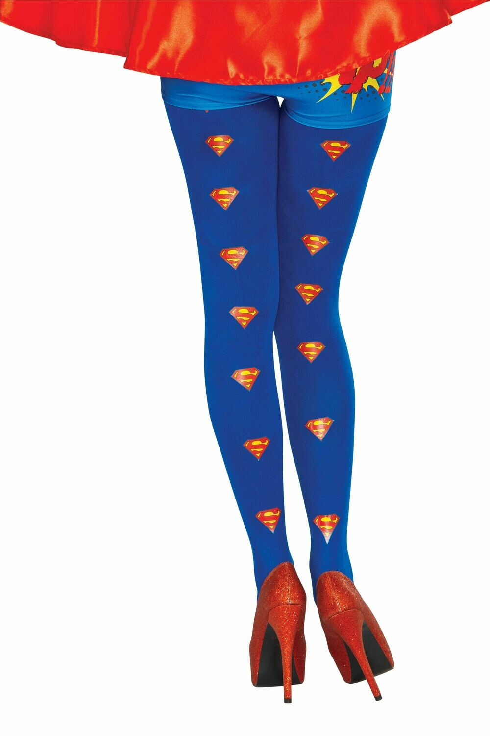 Supergirl Tights - Adult