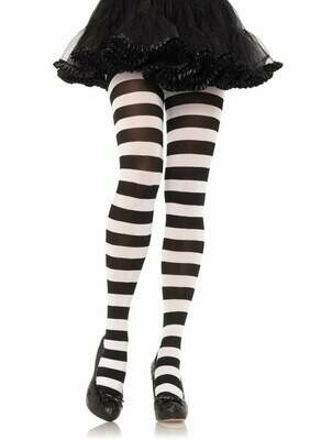 Wide Stripe Tights