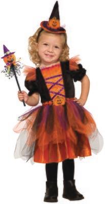 Deluxe Pumpkin Witch
