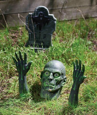 Zombie Ground Breaker Lawn Decor