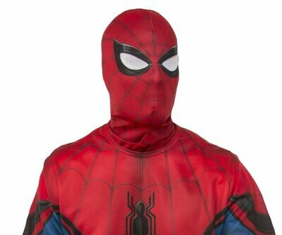 Spider-Man: Far From Home Red/Blue Fabric Mask - Adult