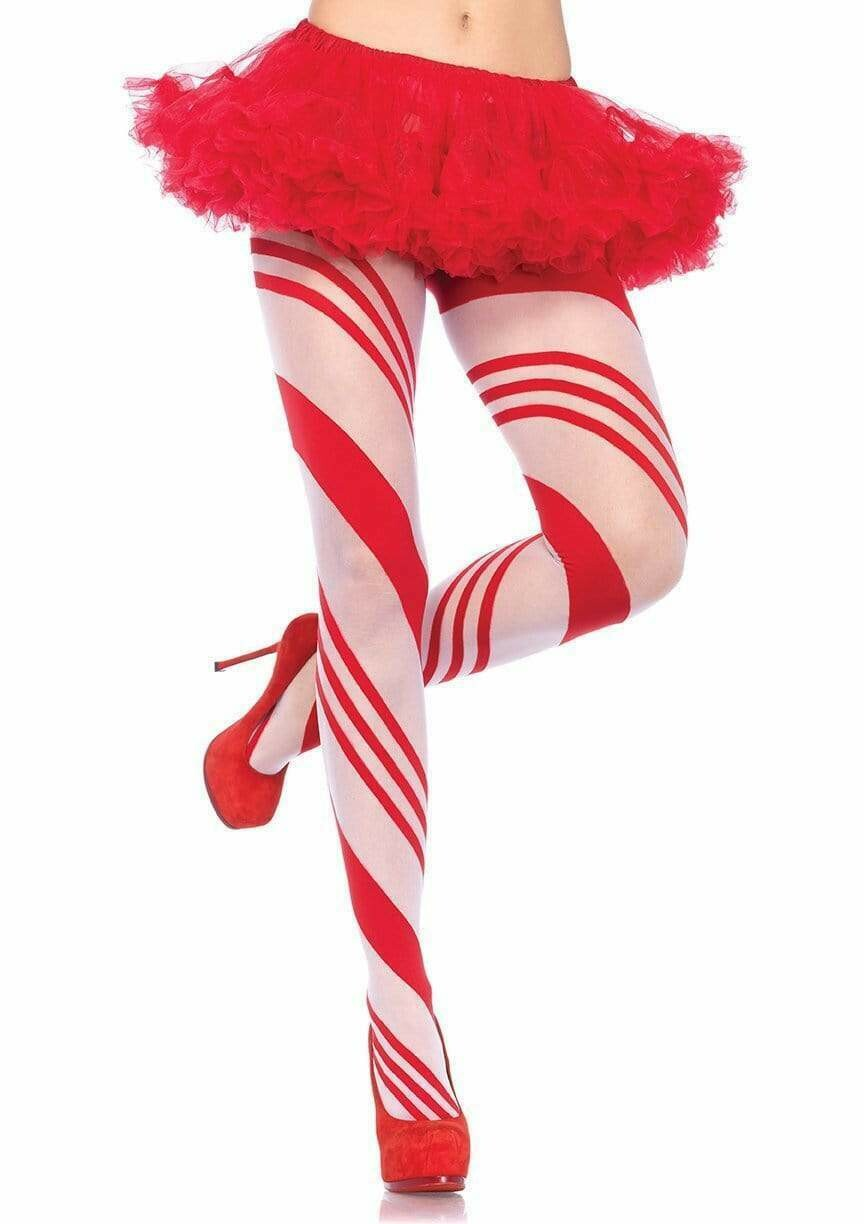 Candy Striped Pantyhose