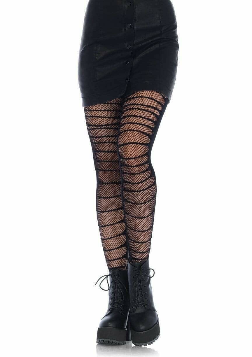 Double Layered Shredded Tights