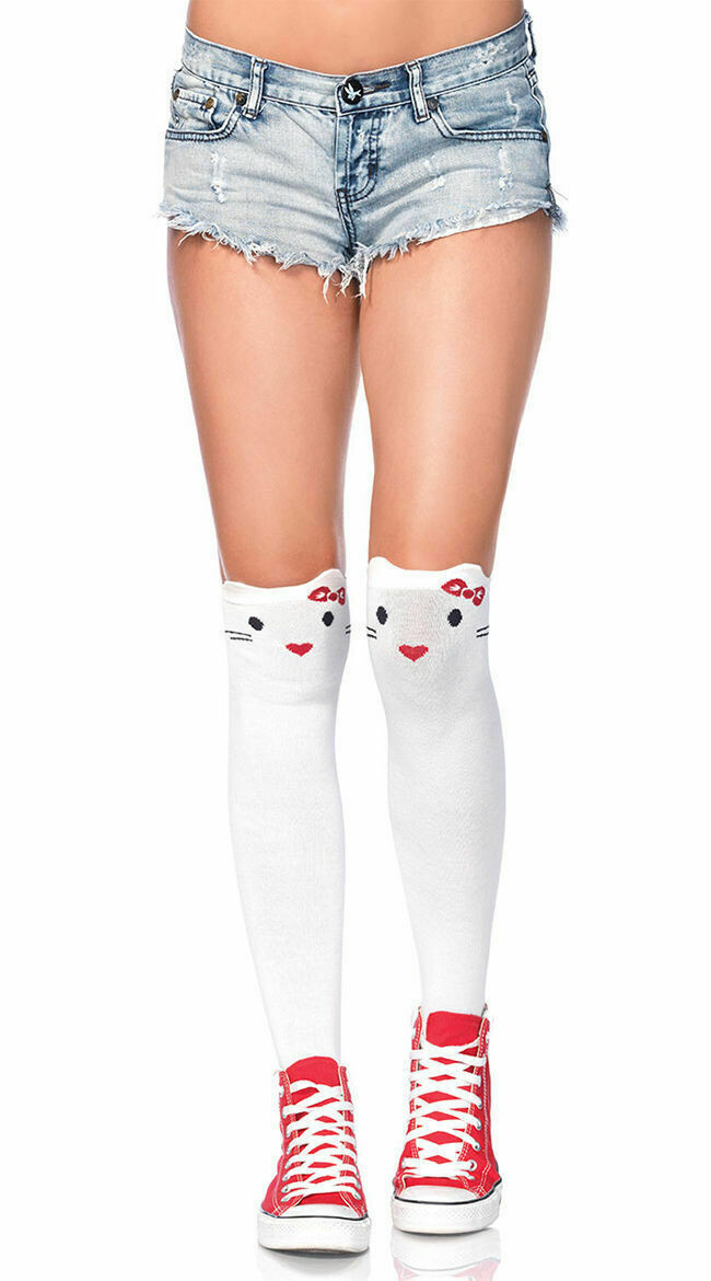 Goodbye Kitty Knee Highs