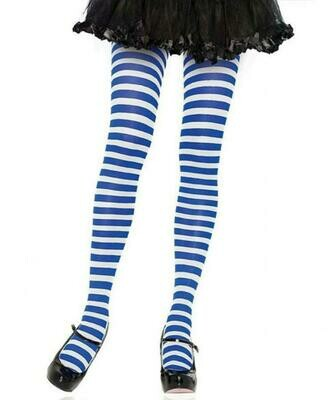 Nylon Striped Tights