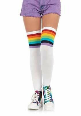 Over The Rainbow Thigh Highs