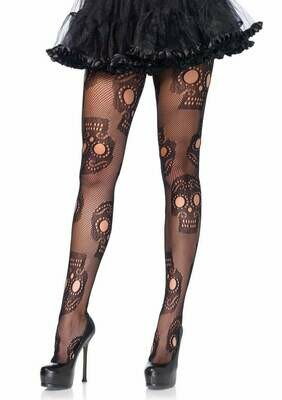 Sugar Skull Tights