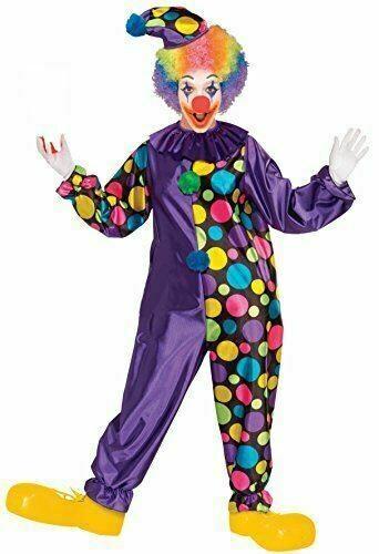 Purple Polka Dot Clown