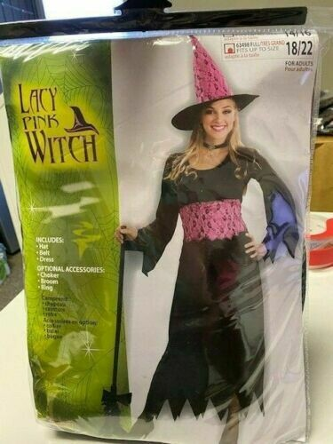 Lacy Pink Witch - Plus Size