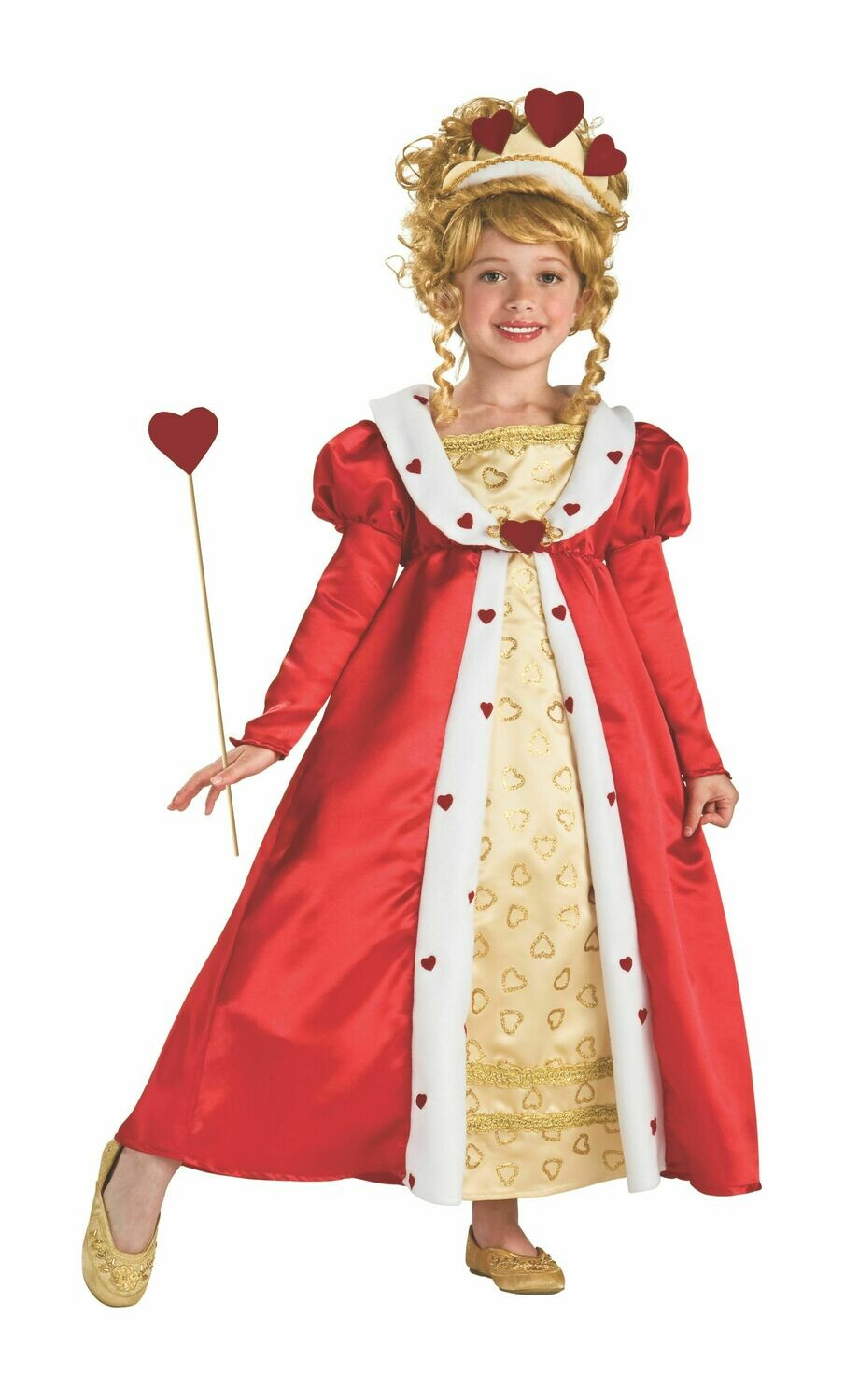 Red Heart Princess Costume