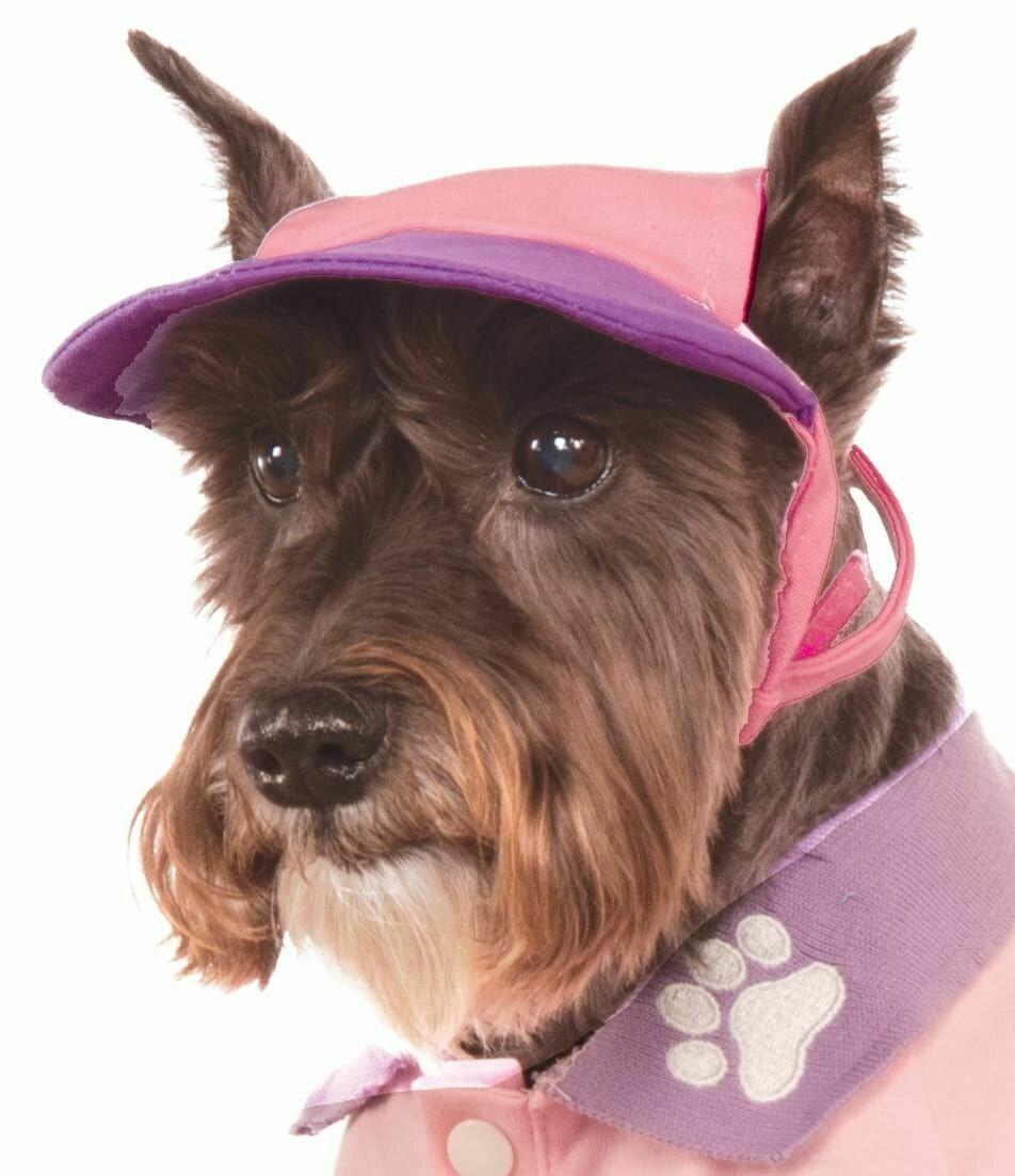 Pink/Purple Baseball Pastel Cap Pet Costume
