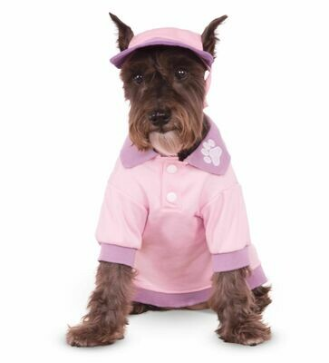 Pink Polo Shirt Pet Costume