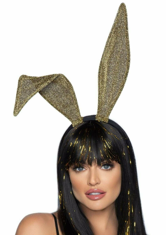 Glitter Bunny Ear Headband